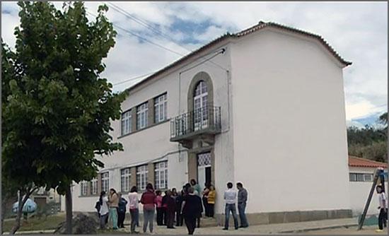 O governo decidiu encerrar a escola de Santo Estêvão (Sabugal)