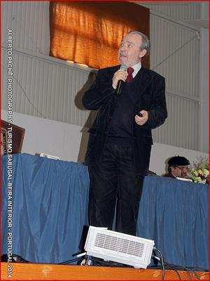 Oração de Sapiência - Prof. Adérito Tavares - Aldeia do Bispo - V Capítulo - Confraria Bucho Raiano - Capeia Arraiana