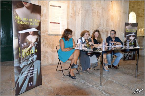 Apresentação do livro Madre Paula - Mãe d'Água das Amoreiras - Patrícia Müller, Pedro Rolo Duarte e Maria Máxima Vaz -  Capeia Arraiana