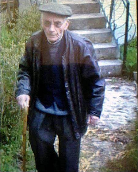 Manuel Joaquim Nabais está desaparecido