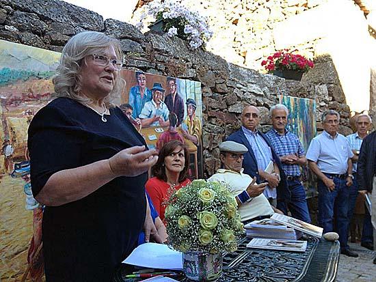 Georgina Esteves Ferro em Aldeia do Bispo - foto de José Luís Vicente