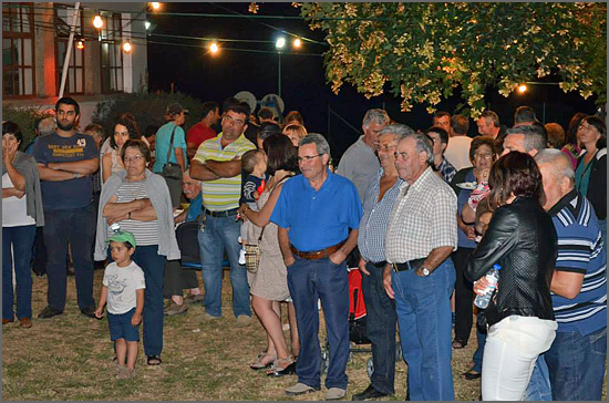 A população de Rendo marcou presença na festa da associação