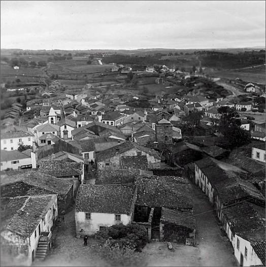 Sabugal em 1950 (foto de José Cortez Liberato)