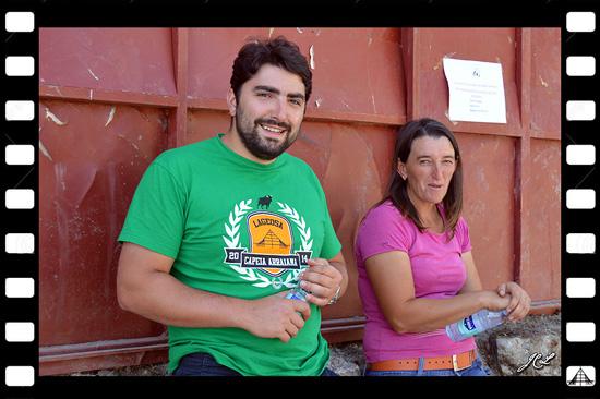 PhotoDestaque - Filipe Sanches e Joaquina - Aldeia do Bispo - 2014 - Foto: José Carlos Lages -  Capeia Arraiana