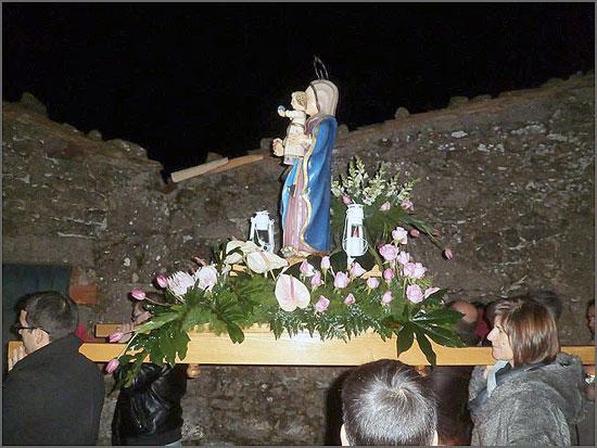 Festa em louvou de Nossa Senhora das Candeias no Ozendo, Sabugal