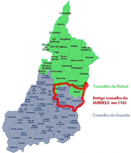 Concelho do Jarmelo em 1143 - Capeia Arraiana