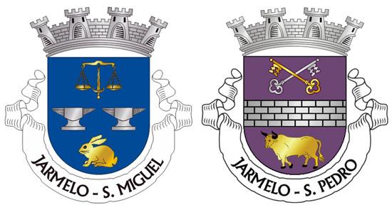 Brasões das Freguesias de São Miguel e de São Pedro do Jarmelo - Capeia Arraiana