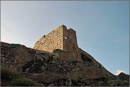 Outra imagem do castelo de Ranhados