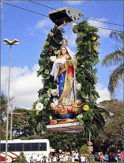 Imagem de Nossa Senhora da Abadia em Romaria (Brasil)