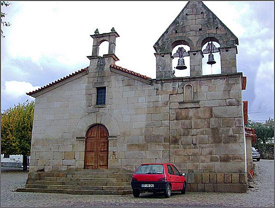 Igreja matriz de Cinco Vilas