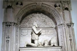 Túmulo renascentista do primeiro Conde de Sortelha, D. Luís da Silveira, em Góis - Adérito Tavares - Capeia Arraiana