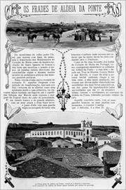 1 - Reportagem da revista «Ilustração Portuguesa» de 10 de Outubro de 1910 sobre o encerramento do Colégio de Aldeia da Ponte - Adérito Tavares - Capeia Arraiana