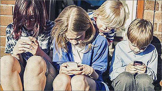 A nomofobia também se manifesta nas crianças