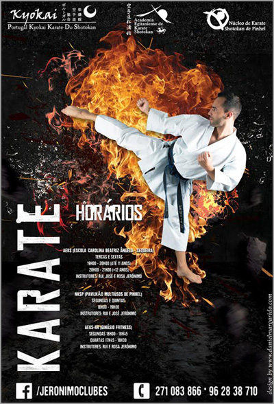 Karate Shotokan na Guarda - Capeia Arraiana