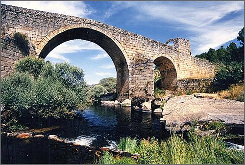Ponte de Sequeiros vista de montante