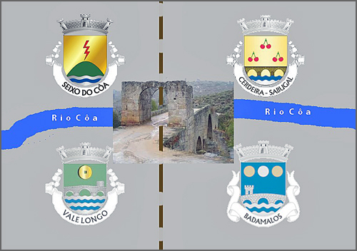 Quatro freguesias quiseram confinar com a ponte