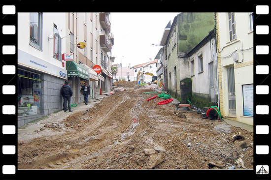 Photo Destaque - Obras no Sabugal - 16 de Outubro de 2014 - Capeia Arraiana