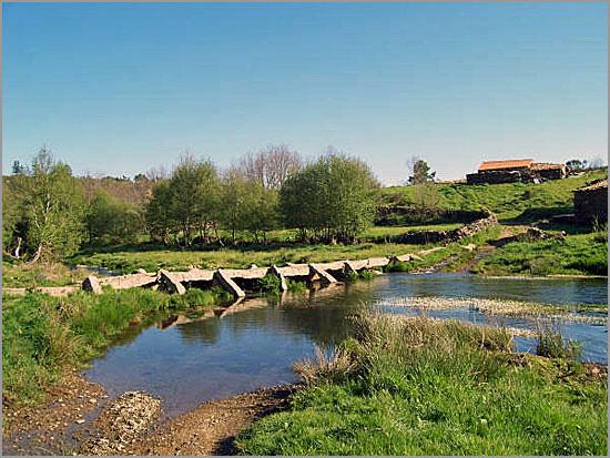 Pontão sobre o Rio Côa - Sabugal - Capeia Arraiana