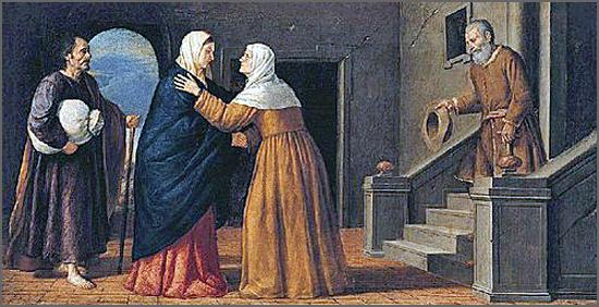 Visita de Maria à sua prima Isabel