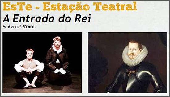 O teatro foi a Aldeia de Joanes