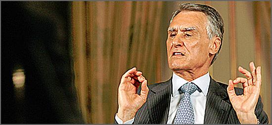 Cavaco Silva quando se pronuncia é para se manifestar surpreso