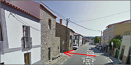 Entrada da Rua do Caramelo
