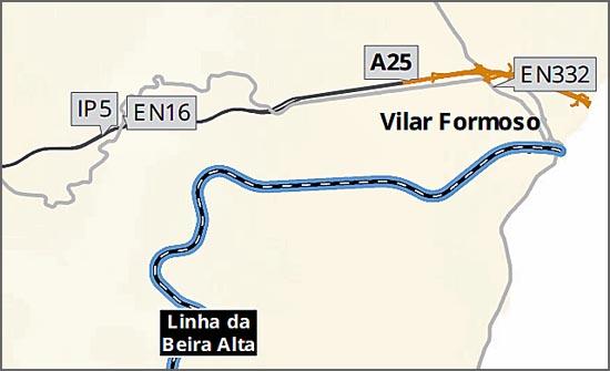 Troço de auto-estrada em Vilar Formoso é o único investimento no distrito