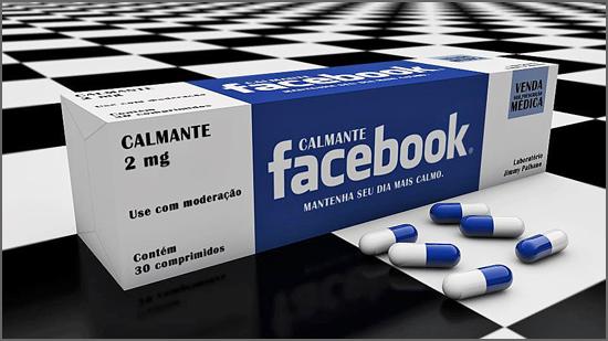 Remédio para viciados no Facebook