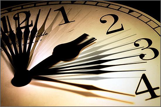 O tempo voa...