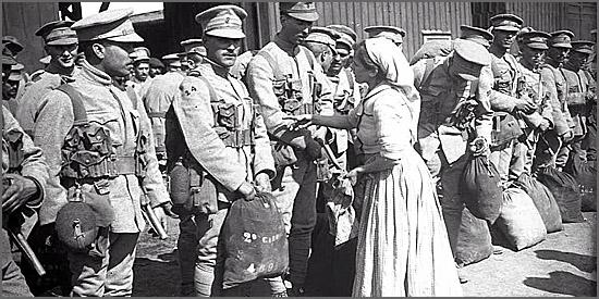 Há 98 anos partem para França os primeiros soldados portugueses