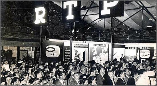 A RTP emite regularmente desde Março de 1957