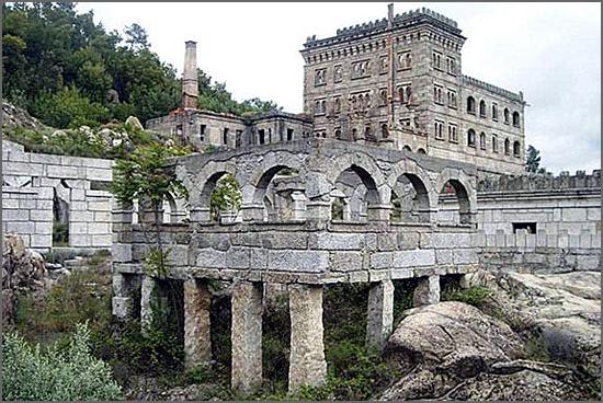As ruínas da Serra da Pena