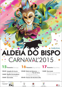 Carnaval 2015 - Aldeia do Bispo - Sabugal -Capeia Arraiana