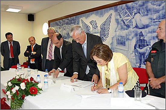 Há oito anos Benedita Rito Dias era eleita presidente dos Bombeiros Voluntários do Soito