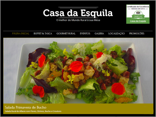 Salada Primavera de Bucho - Casa da Esquila - Capeia Arraiana