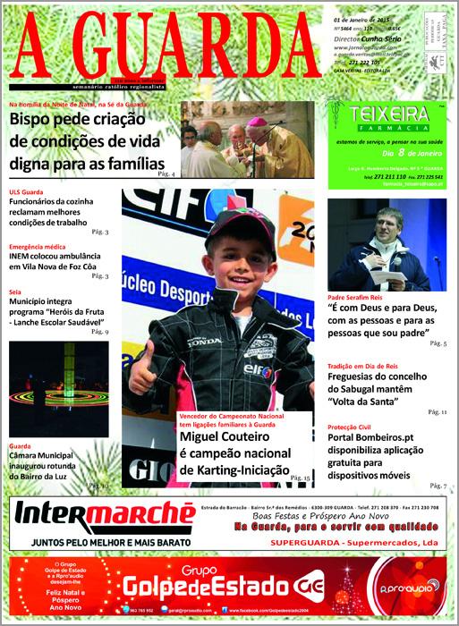 Jornal A Guarda - Miguel Couteiro - Karting - Ozendo - Capeia Arraiana
