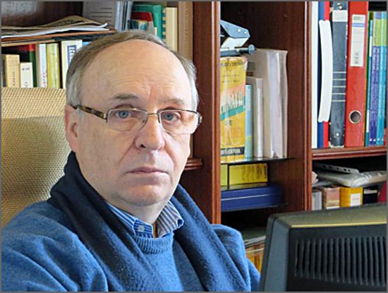 Prof. José R. Pires Manso, o autor do estudo sobre a Natalidade na Beira Interior