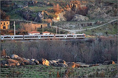 Estação do Noemi vista da margem esquerda do rio