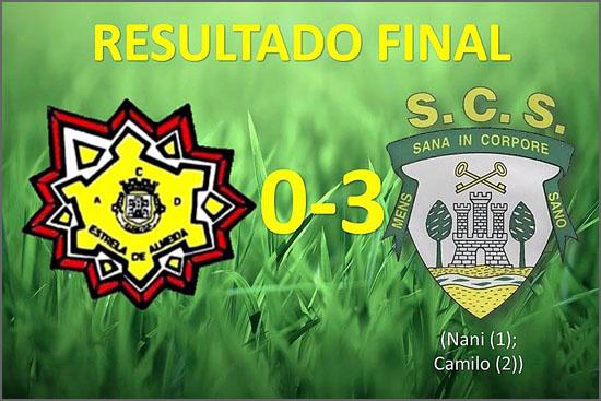 O Sporting do Sabugal dominou a partida