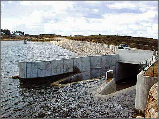 A barragem de Alfaiates foi inaugurada há 13 anos