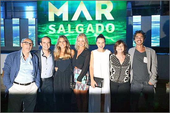 Elenco da telenovela «Mar Salgado»