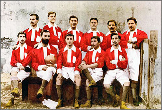 O Grupo Sport Lisboa (primeira designação do Sport Lisboa e Benfica) foi criado há 111 anos