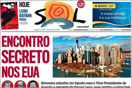 Semanário Sol - 20150213 - Capeia Arraiana