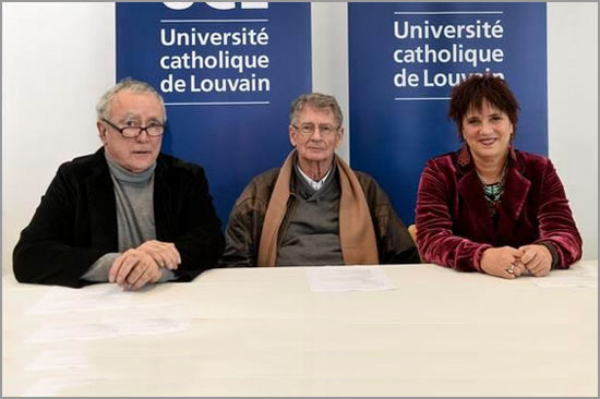 Jean-Claude Guillebaud - André Brink - Eve Ensler - Université Catholique Louvain - Capeia Arraiana