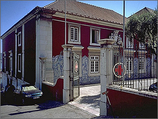 Fundada há 140 anos, a Cruz Vermelha Portuguesa está sedeada no palácio Sabugal-Óbidos, em Lisboa