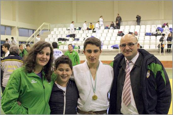 Carla Vaz, Emanuel Martins e David Carreira - Judo - Sabugal - Capeia Arraiana