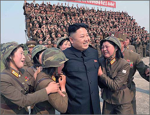 Kim Jong Un - líder da Coreia do Norte