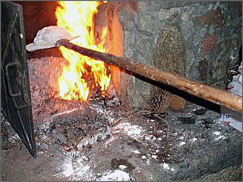 O pão vai ao forno