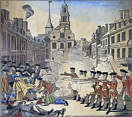 O Massacre de Boston ocorreu há 245 anos