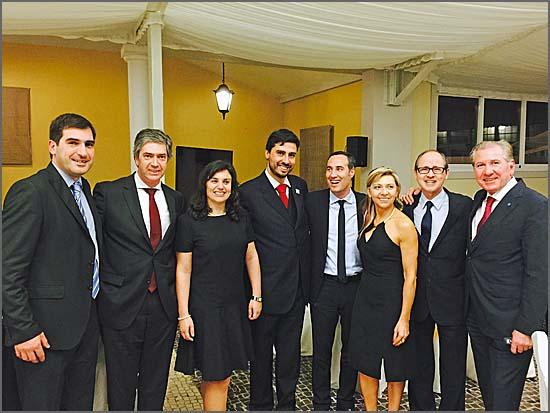 Pedro Machado com os directores premiados